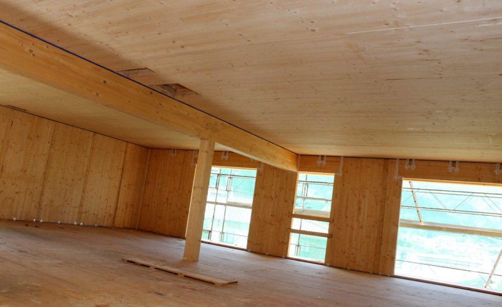 PRECOM construye cuarenta viviendas «termo» Passivhaus en Leitza