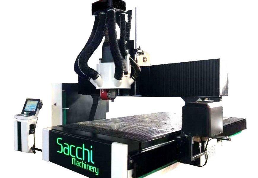 SACCHI desarrolla una solución 5 Ejes a un precio competitivo