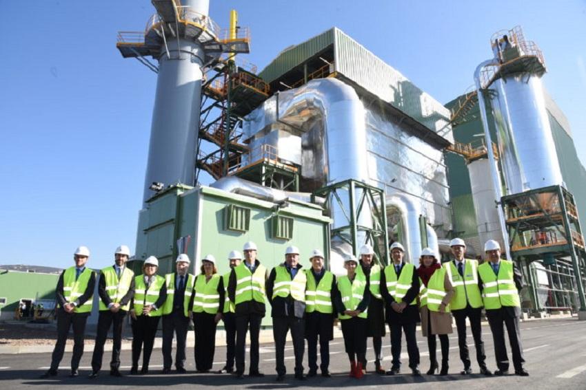 Inaugurada la primera central eléctrica con biomasa de 2020