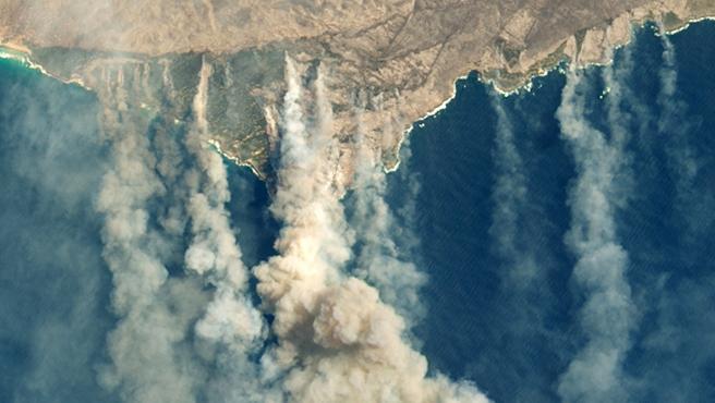 Los incendios forestales retroalimentan el cambio climático