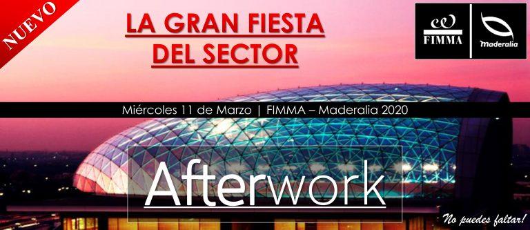 Afterwork FIMMA – MADERALIA reunirá a más de 4.000 profesionales