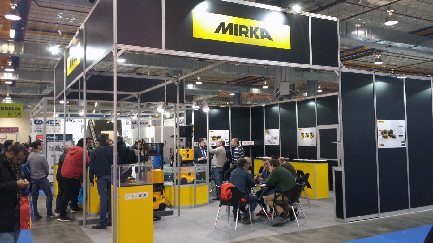 MIRKA repite en FIMMA-Maderalia tras el éxito cosechado en 2018