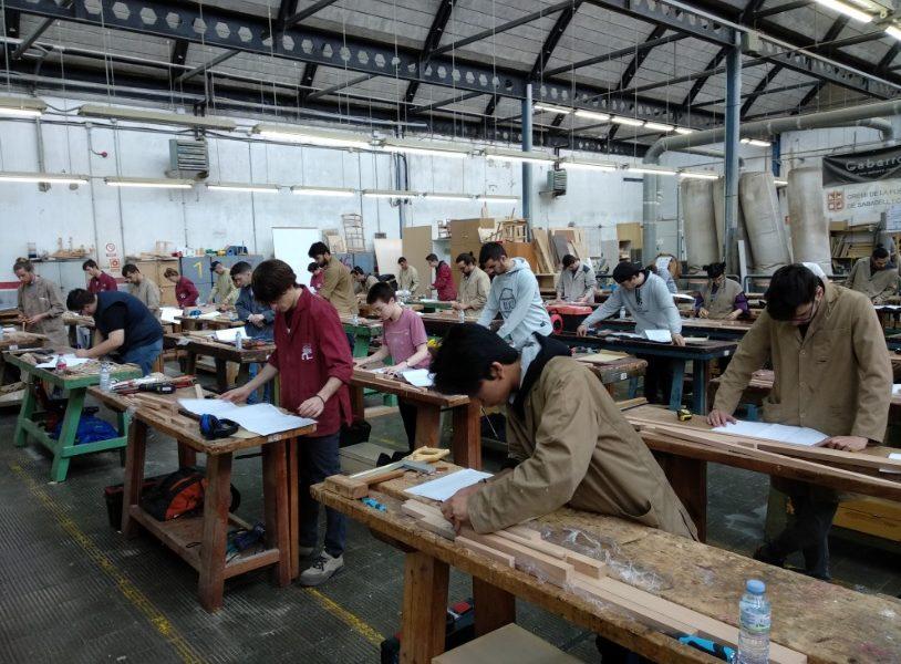 Gran demanda en Galicia de los módulos de carpintería y mueble