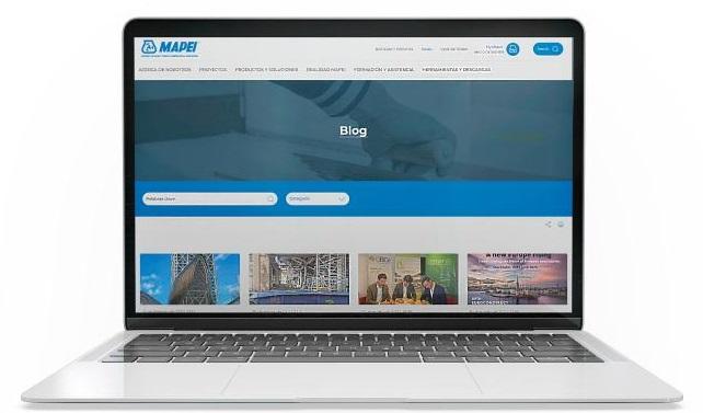 La actualidad del sector en el Blog MAPEI