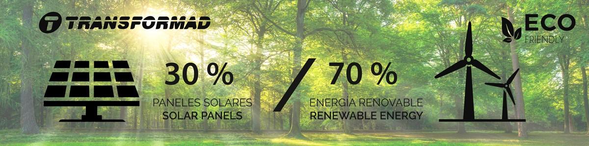 TRANSFORMAD pone 300 paneles solares en sus instalaciones