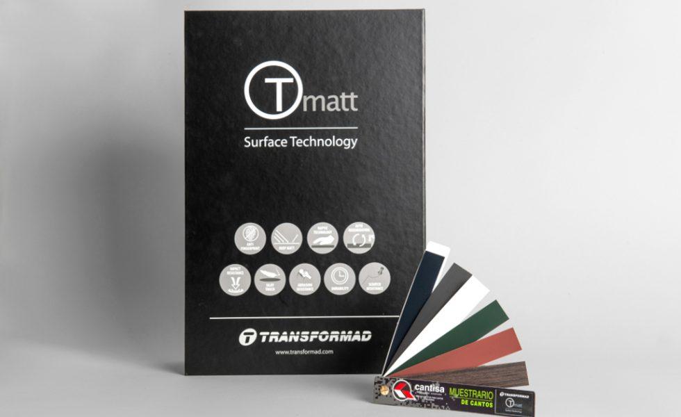 Cantos ultramates para los nuevos colores Tmatt de TRANSFORMAD