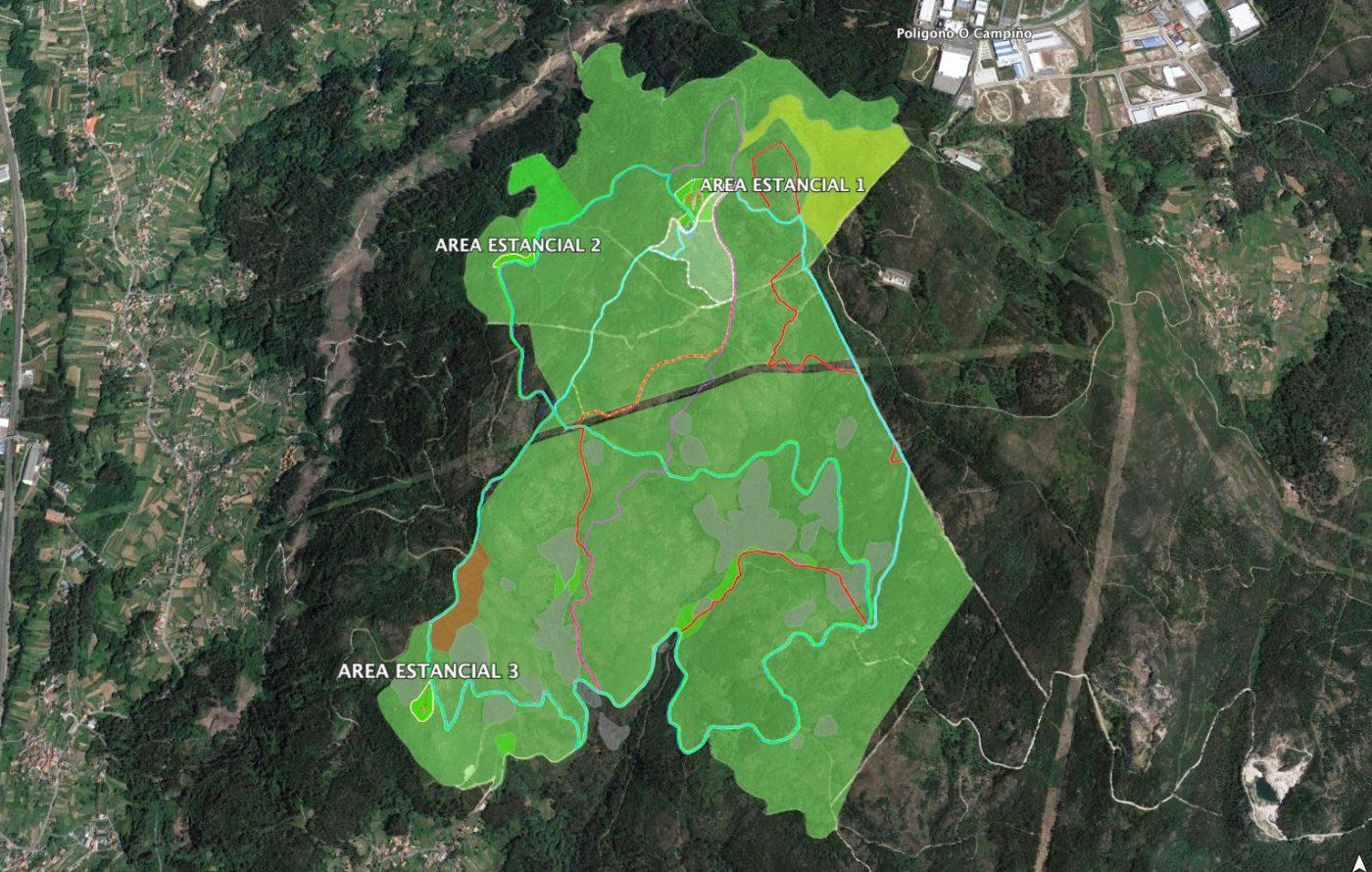 Un parque forestal para poner en valor los árboles del monte gallego