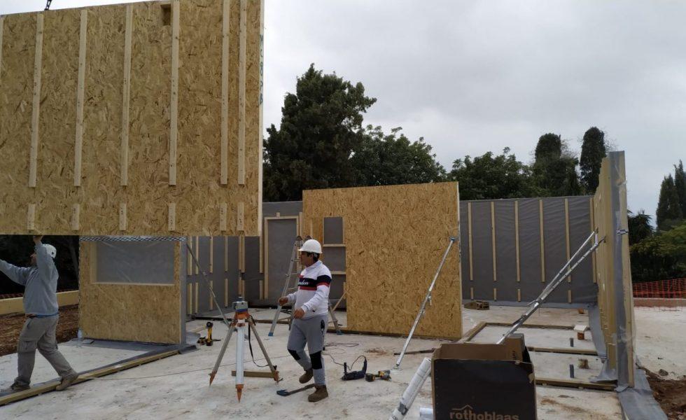 ARQUIMA construye la primera vivienda pasiva de la provincia de Málaga