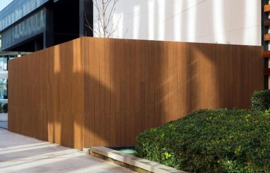 Tarima de bambú DASSO, una solución de GABARRO para exteriores