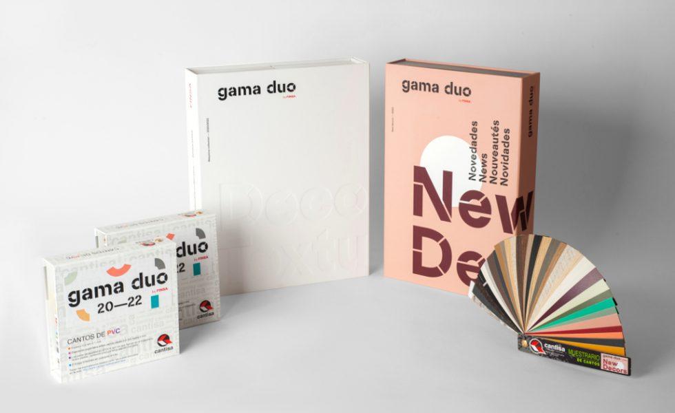 CANTISA tiene disponibles los nuevos diseños de cantos para la Gama Duo 2020-2022 de FINSA