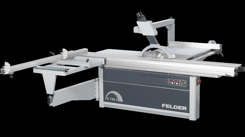 Nueva sierra escuadradora FELDER K 740 S