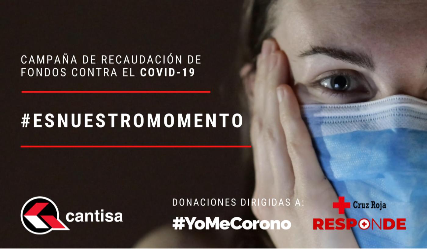 CANTISA pone en marcha una campaña de recaudación de fondos contra el COVID-19