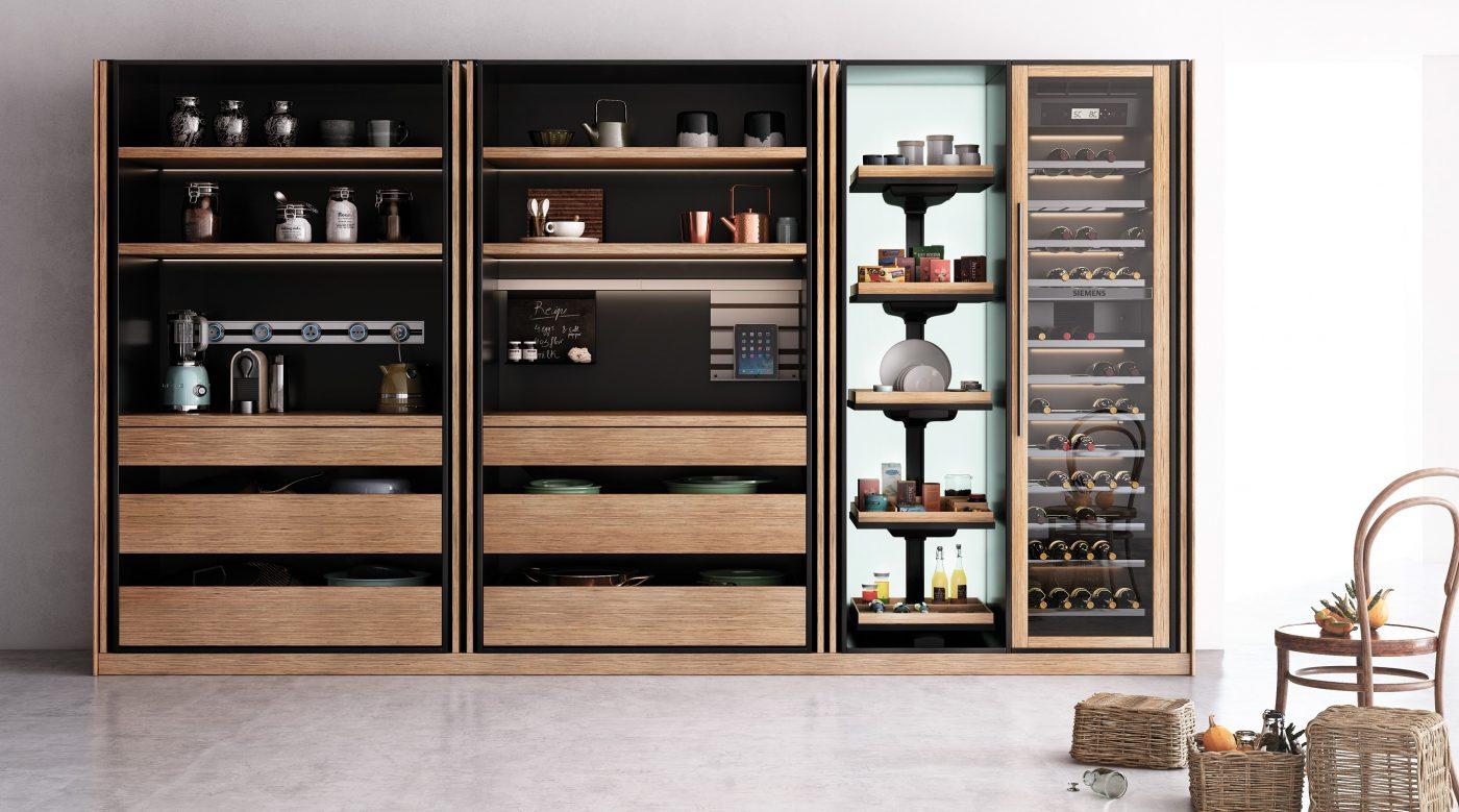 REKKER presenta su colección Roka, una cocina moderna y muy arquitectónica