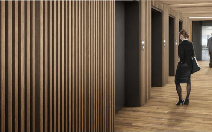 SPIGOGROUP lanza su nuevo revestimiento decorativo de madera Spigoplank
