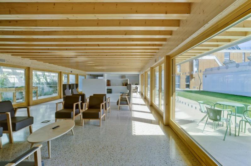 La primera residencia de ancianos Passivhaus de España es finalista en los Premios FAD 2020
