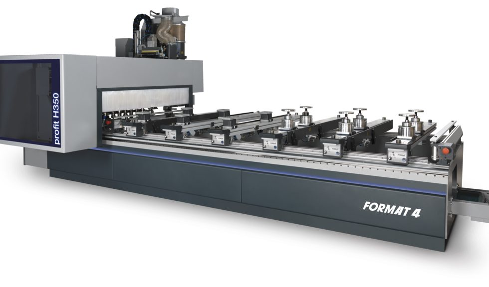 Nuevo centro de trabajo CNC con 5 ejes profit H350 de FORMAT 4