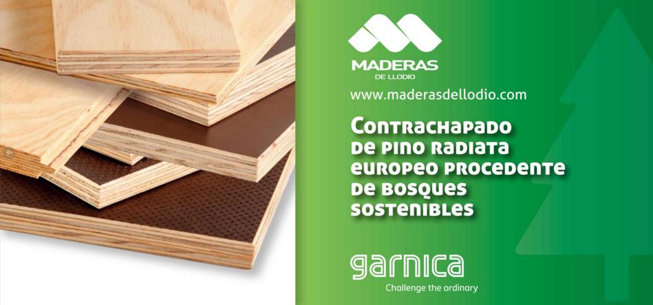 MADERAS DE LLODIO lanza dos nuevos productos de pino radiata europeo