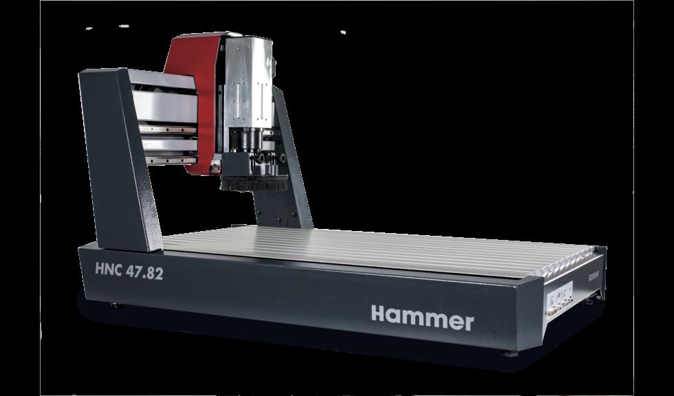 Nueva fresadora de pórtico HAMMER HNC 47.82