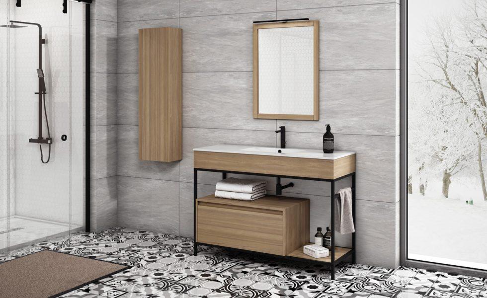 LEYMA: Mobiliario de baño de madera maciza