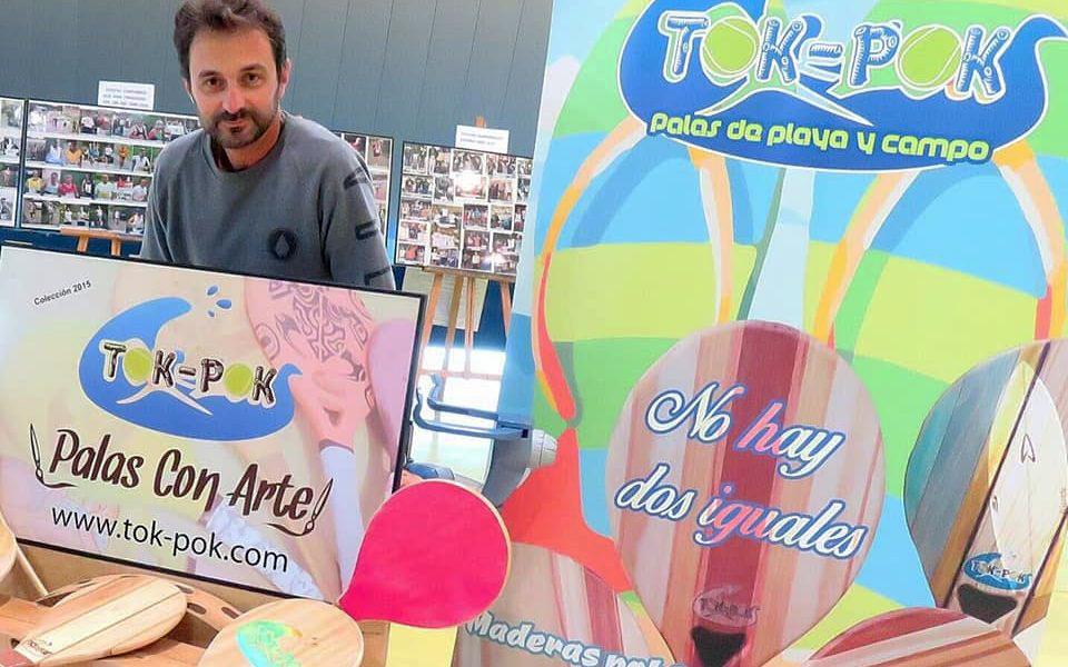 TOK-POK, una apuesta de calidad por palas de madera personalizadas