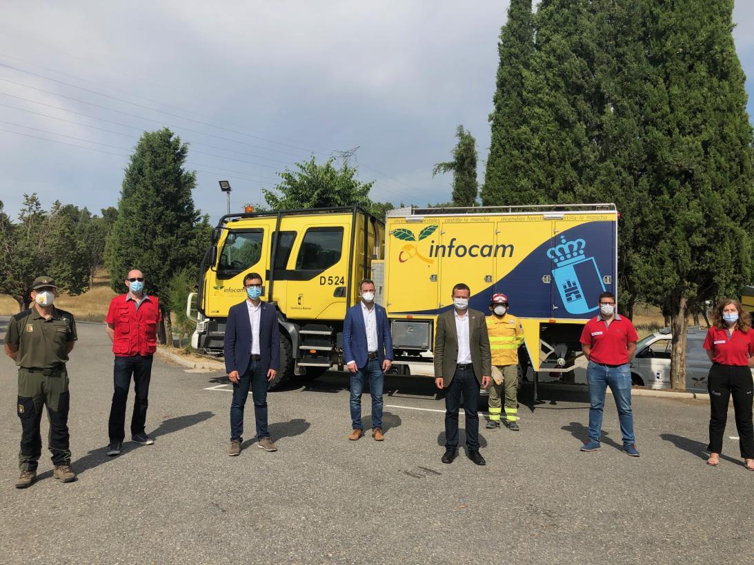 Castilla-La Mancha presenta la campaña de concienciación ciudadana: Contra los incendios: #PlantaCara