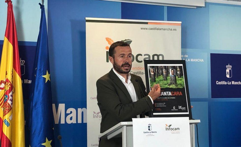 Castilla-La Mancha presenta la campaña de concienciación ciudadana: 'Contra los incendios: #PlantaCara'
