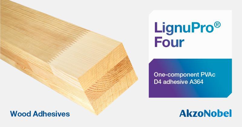 LignuPro® Four, adhesivo para madera de AKZONOBEL