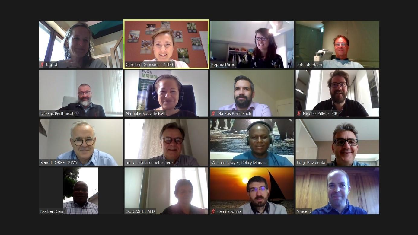 Reunión inicial de la comisión de certificación del ATIBT