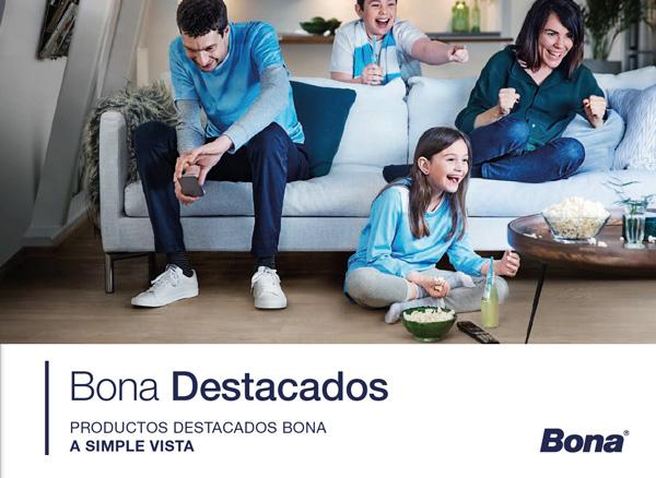 """Envío del folleto """"Destacados BONA"""" a los distribuidores"""