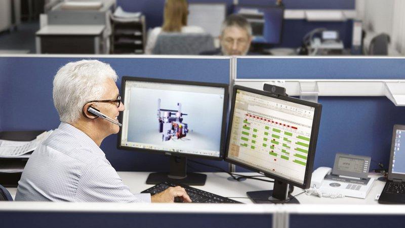 HOMAG garantiza una ayuda inmediata y personalizada con intelliServiceNet y TeleServiceNet