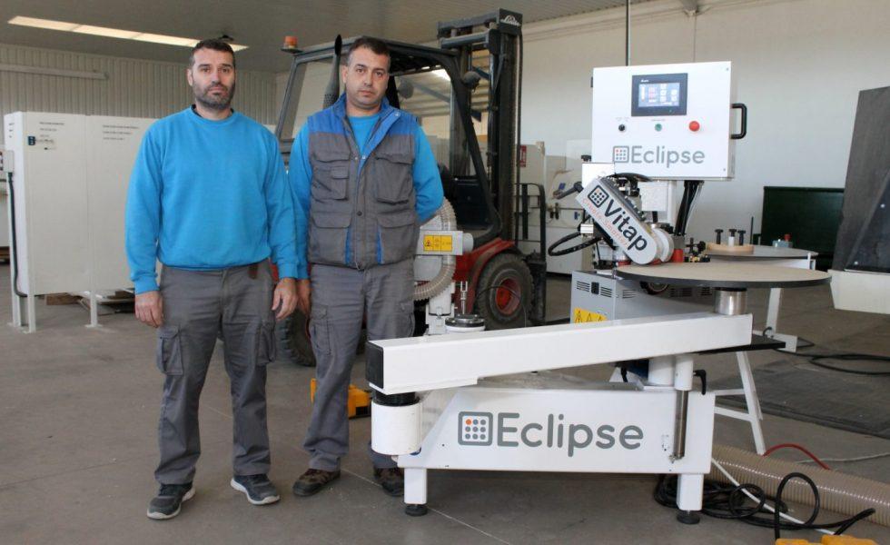 """TASECMA incorpora el servicio de canteado en curvo con una """"Eclipse"""" de VITAP"""