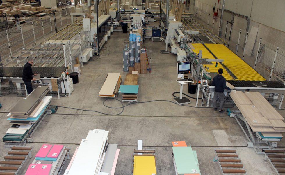 RIMOBEL logra con SCM-STEFANI una automatización de última generación