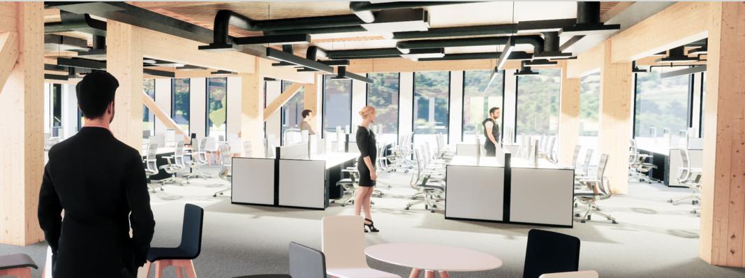 STORA ENSO le convoca al evento virtual «Oficinas de madera del futuro»