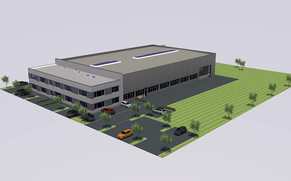 EUROTECH está construyendo su nuevo cuartel general