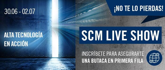 SCM Live Show: Alta tecnología para la madera, en acción
