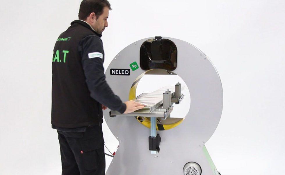 Las envolvedoras orbitales de PLASTICBAND multiplican la protección de tu producto y de las personas