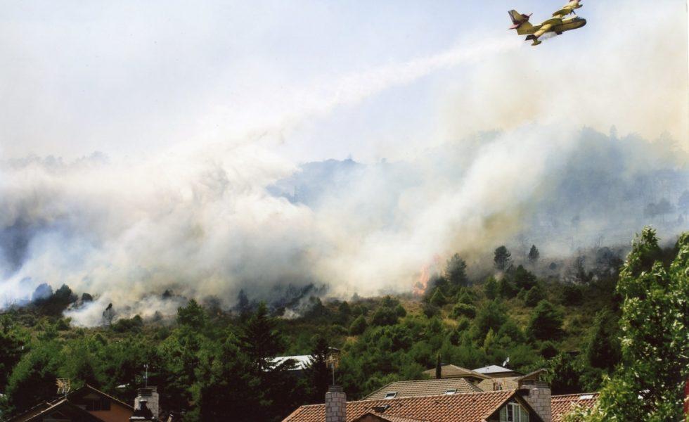Los servicios de lucha contra incendios forestales alertan del riesgo extremo de incendio