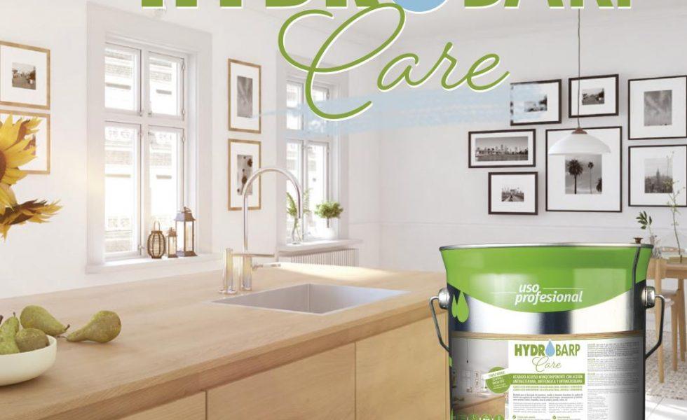 BARPIMO presenta «Hydrobarp Care», innovadora gama de barnices higienizantes al agua para madera de interior