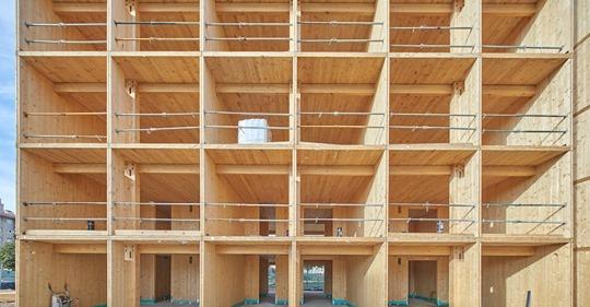 Ingeniería y madera vascas para construir 160 viviendas sostenibles en el Reino Unido