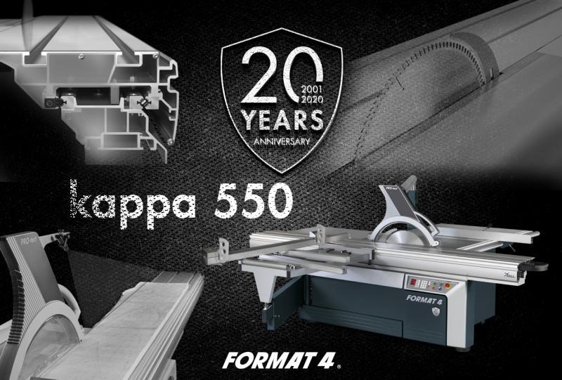 Promoción 20 aniversario de FORMAT 4: kappa 550 edición 2020