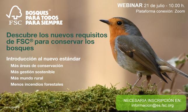 Cuidemos los bosques: Introducción al nuevo estándar de FSC