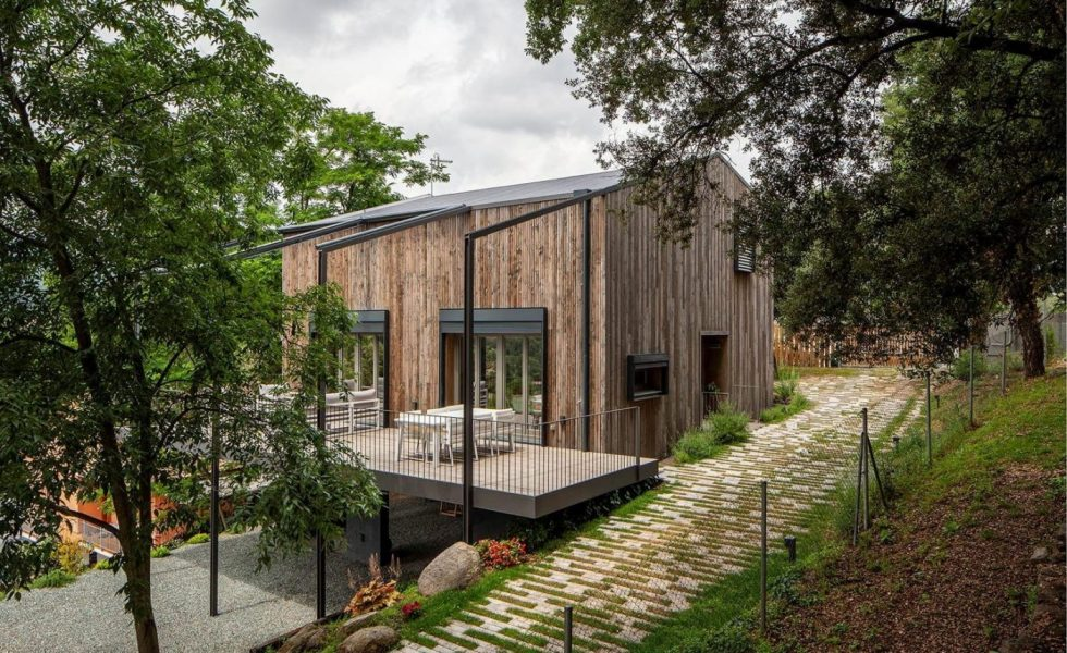 HOUSE HABITAT entrega una vivienda biopasiva en Sant Pere de Vilamajor (Barcelona)