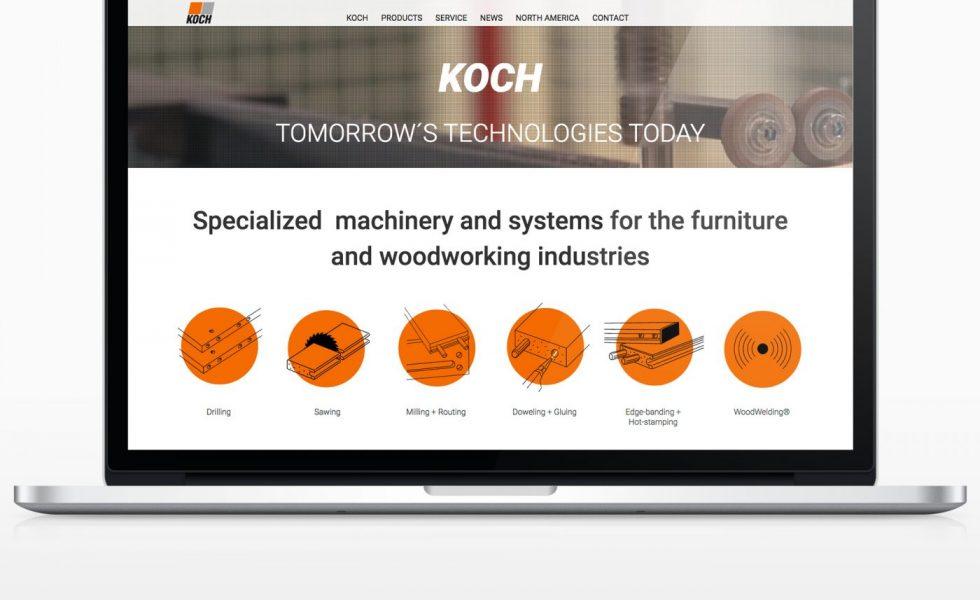 KOCH presenta su nuevo sitio web