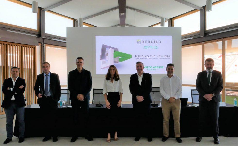 Las empresas líderes del sector de la edificación acuerdan celebrar REBUILD en septiembre