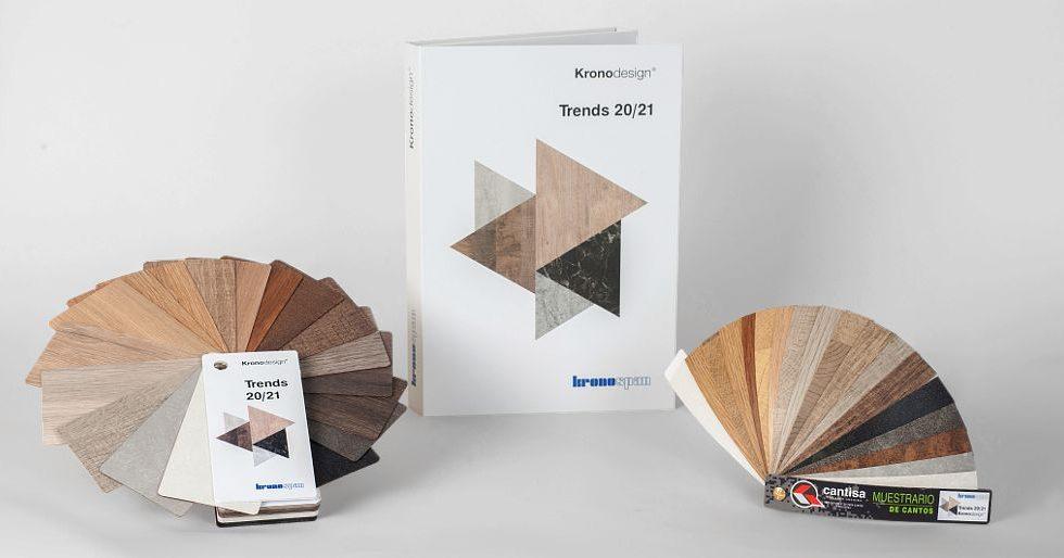 CANTISA dispone de cantos para la gama Kronodesign Trends 20/21 de KRONOSPAN