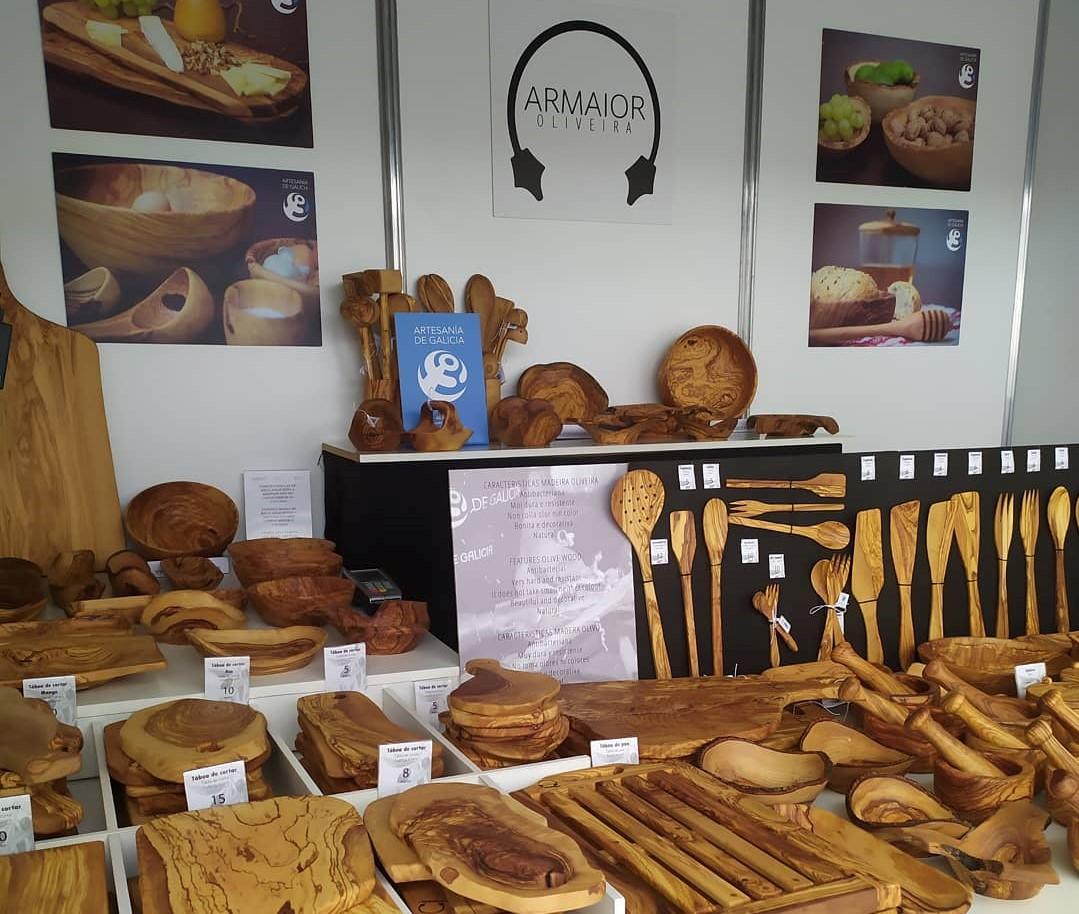 Utensilios de cocina originales y únicos en madera de olivo