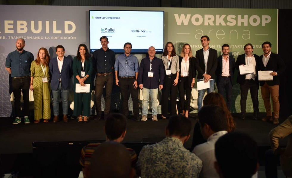 REBUILD convoca a las startups más innovadoras que transformarán la industria de la edificación