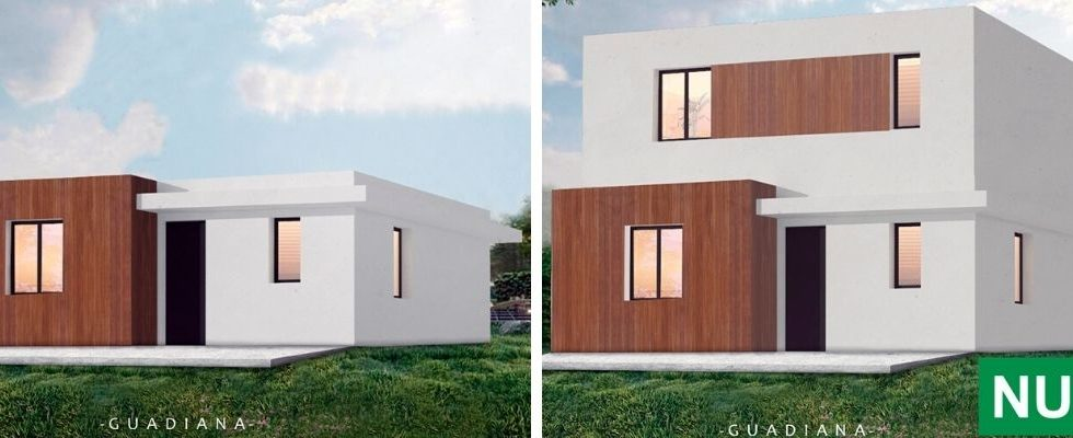GUADIANA, el nuevo modelo de casa de ABS que crece según las necesidades del cliente