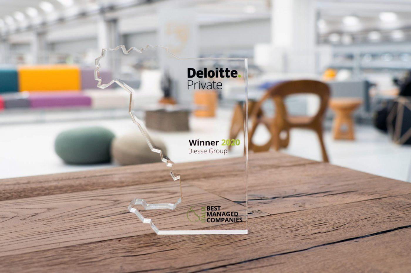 El Grupo BIESSE gana el premio Deloitte a las «Empresas mejor gestionadas»