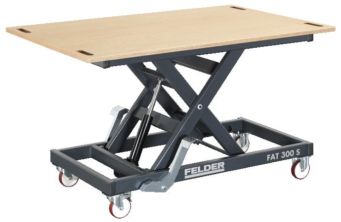 FELDER presenta la mesa de trabajo de altura regulable FAT 300